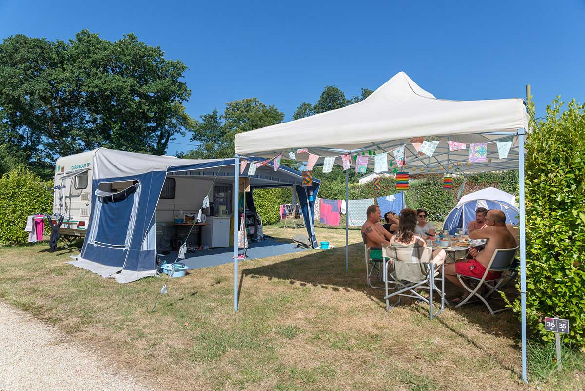 emplacement camping fouesnant