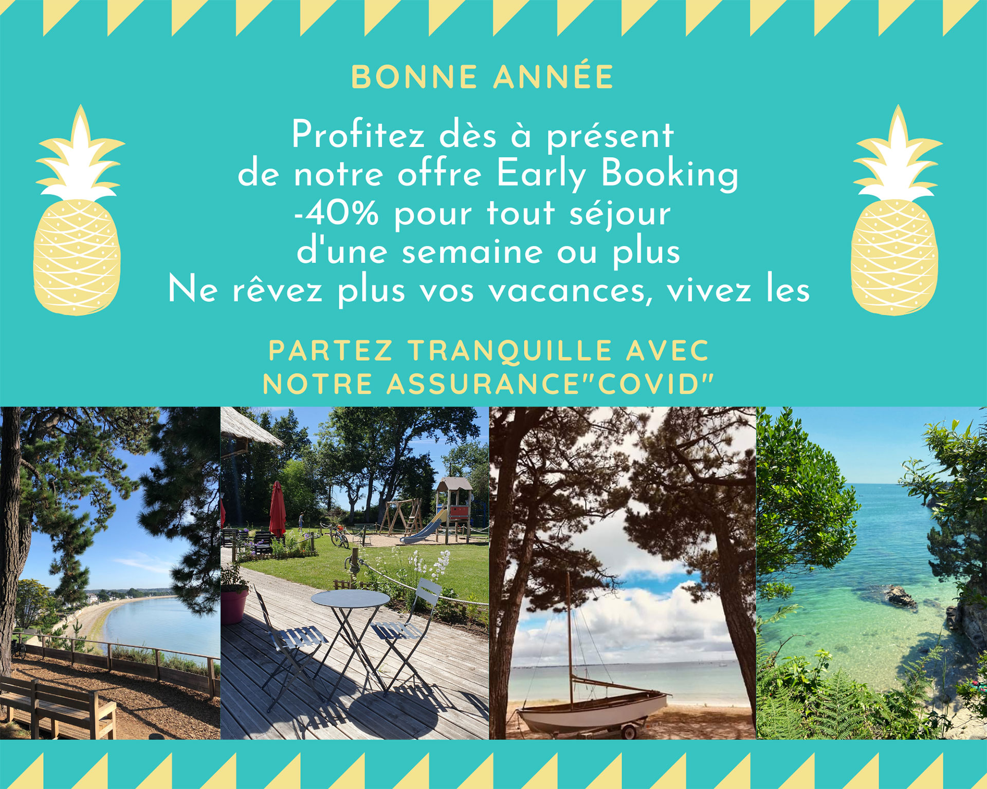Offre promo camping Fouesnant