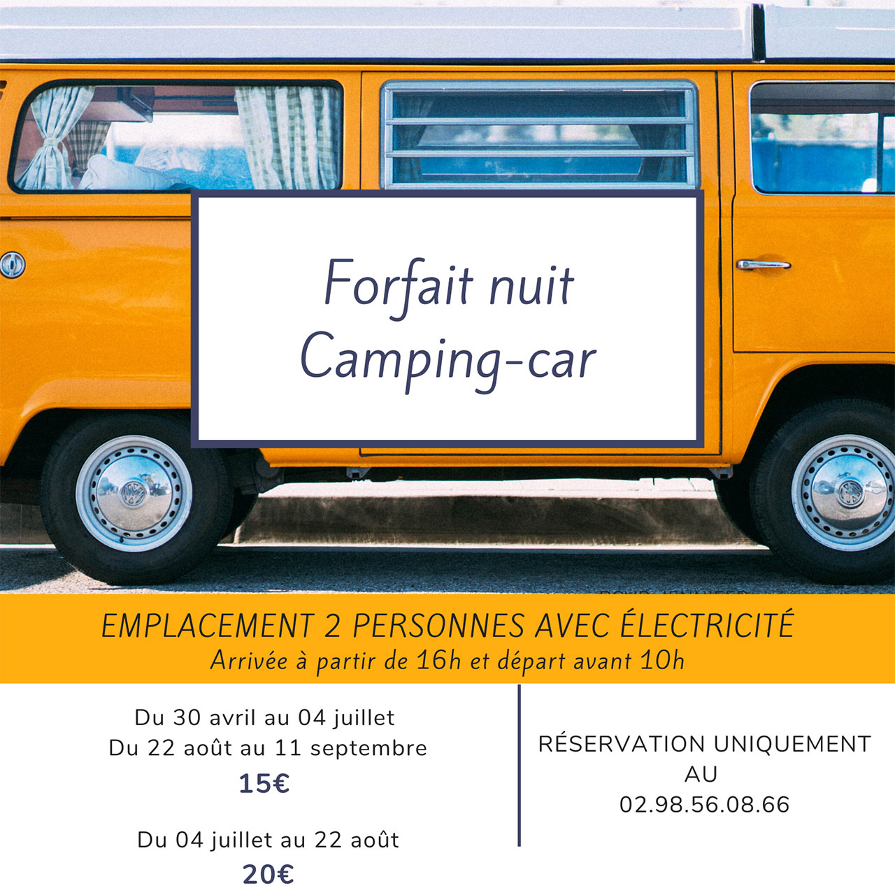 camping fouesnant